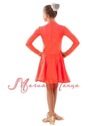Сукня бейсик для бальних танців фото 4