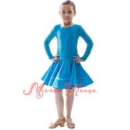 Сукня дитяча для бальних танців фото 1