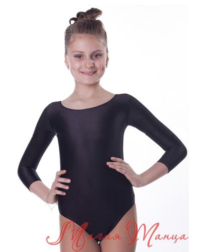 Черный купальник для танцев фото 1