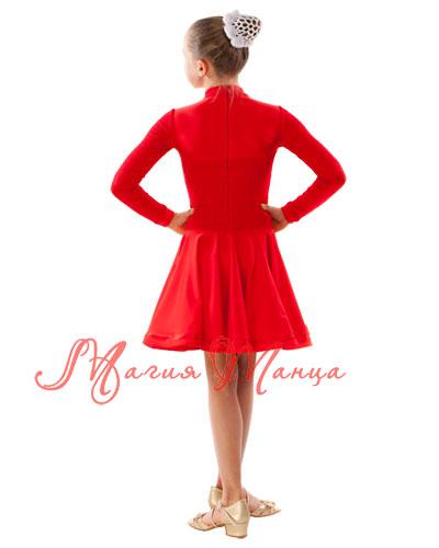 Сукня бейсик для бальних танців фото 2