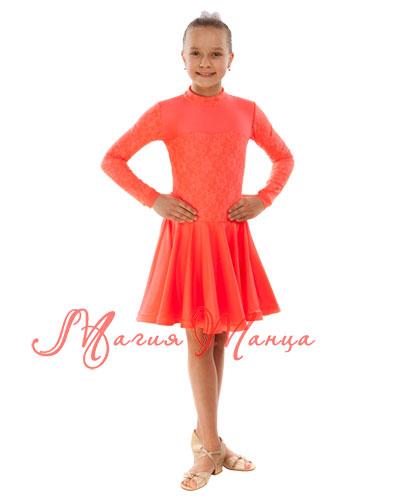 Сукня бейсик для бальних танців фото 3