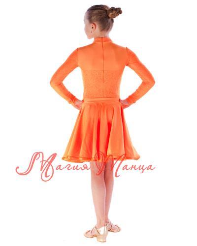 Сукня бейсик для бальних танців фото 6